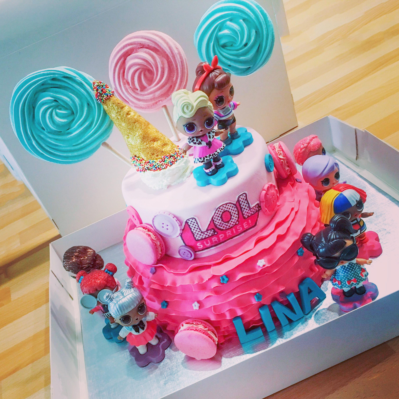 Cake Design LOL Surprise «